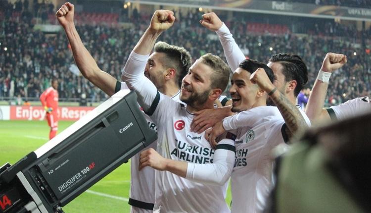 Konyaspor'un en golcüsü sağ bek Nejc Skubic