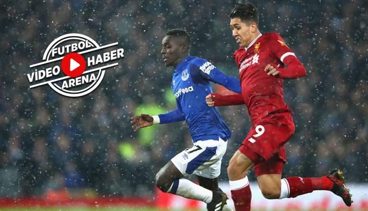 Liverpool 1-1 Everton maçı özeti ve golleri (İZLE)