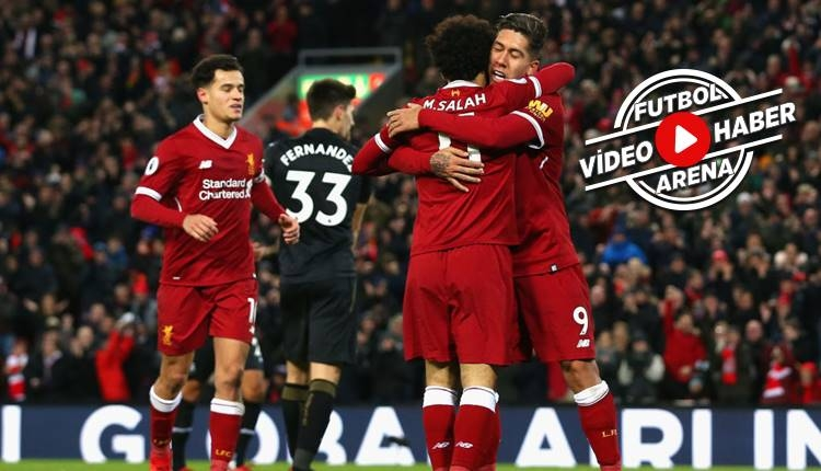 Liverpool 5-0 Swansea City maçı özeti ve golleri