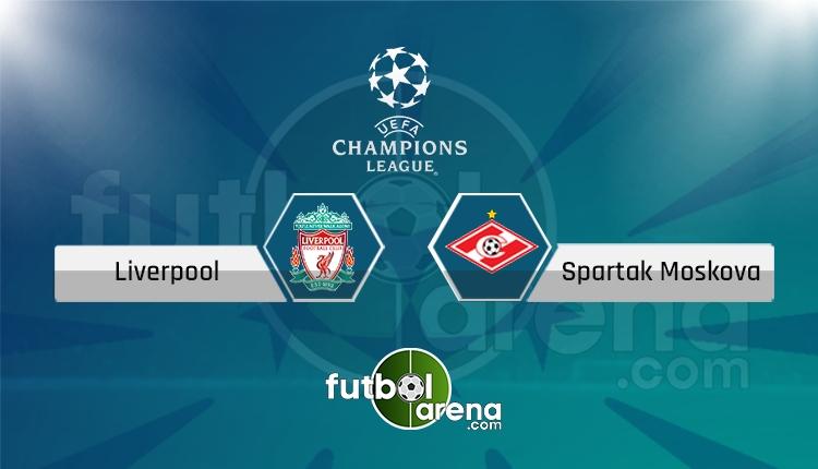 Liverpool - Spartak Moskova saat kaçta, hangi kanalda? (İddaa Canlı Skor)