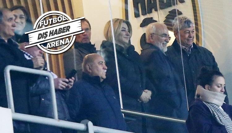 Lucescu, Beşiktaş ve Başakşehir maçı yerine oğlunun takımını izledi