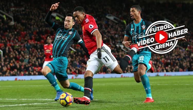 Manchester United 0-0 Southampton maçı özeti