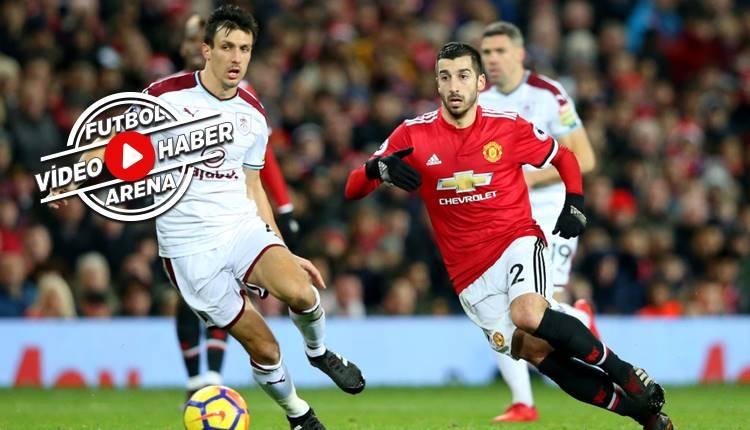 Manchester United 2-2 Burnley maçı özeti ve golleri (İZLE)