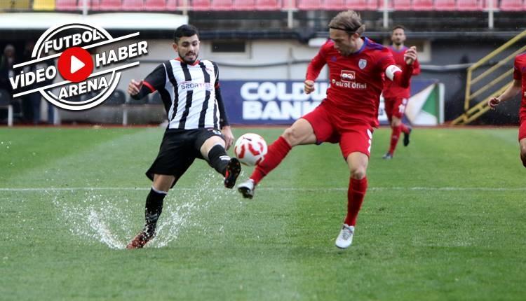 Manisaspor 1-2 Altınordu maçı özeti ve golleri (İZLE)