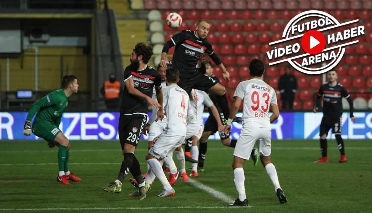 Manisaspor 3-1 Balıkesirspor maçı özeti ve golleri (İZLE)