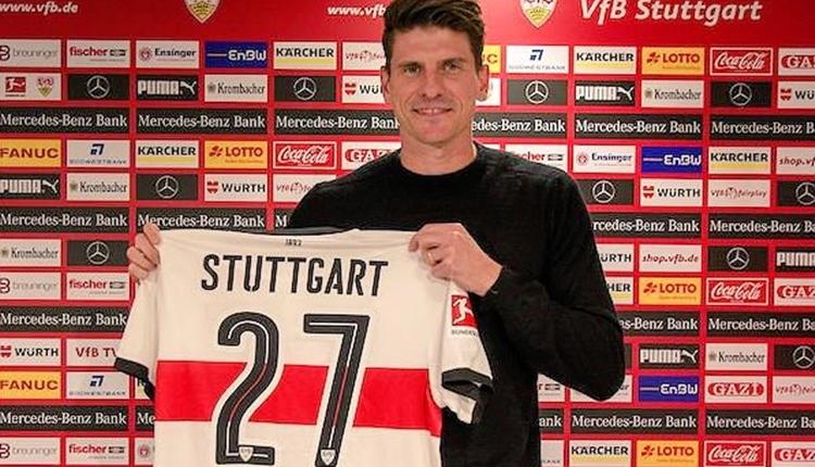 Mario Gomez, Stuttgart'a imza attı! 'Amacım Dünya Kupası'