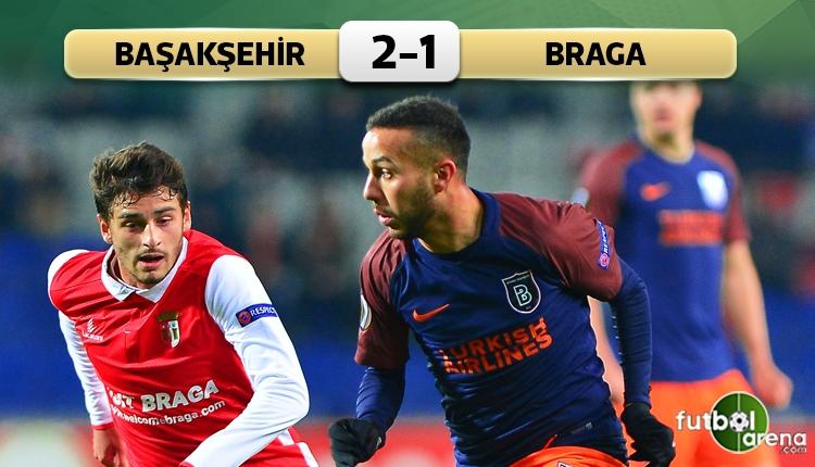 Medipol Başakşehir 2-1 Braga maç özeti ve golleri (İZLE)