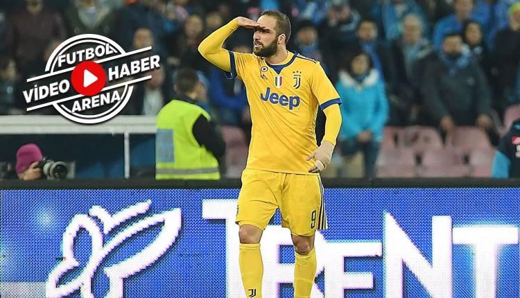 Napoli 0-1 Juventus maçı özeti ve golü (İZLE)