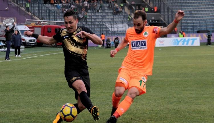 Osmanlıspor 3 - 0 Alanyaspor maç özeti ve golleri (İZLE)