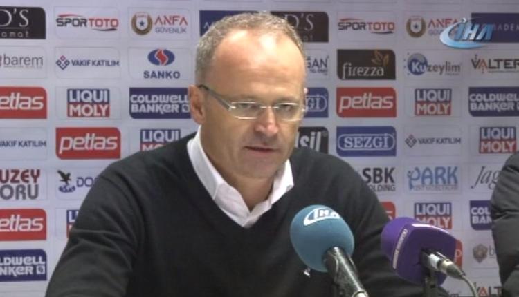 Osmanlıspor'da İrfan Buz'dan maç sonu Beşiktaş açıklaması