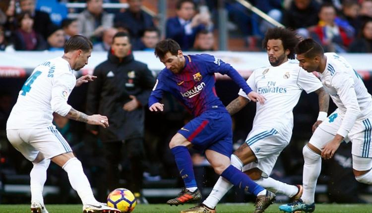 Real Madrid 0 - 3 Barcelona maç özeti ve golleri (İZLE)