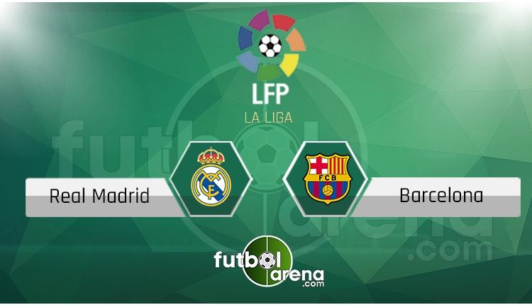 Real Madrid - Barcelona maçı saat kaçta, hangi kanalda? (İddaa Canlı Skor)