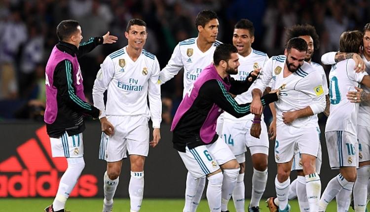 Real Madrid, FIFA Dünya Kulüpler Kupası'nı kazandı (İZLE)