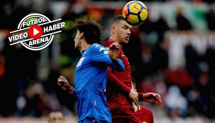 Roma 1-1 Sassuolo maçı özeti ve golleri (İZLE)