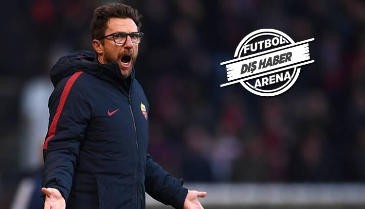 Roma'da Eusebio Di Francesco'dan Cengiz Ünder'e eleştiri!