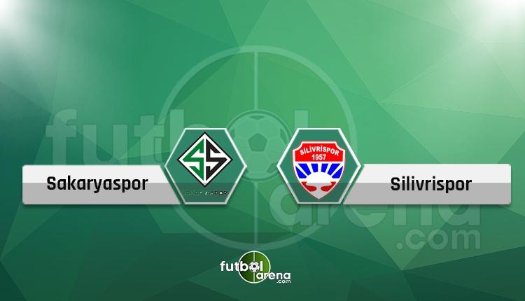 Sakaryaspor - Silivrispor canlı takip, maç hangi kanalda?