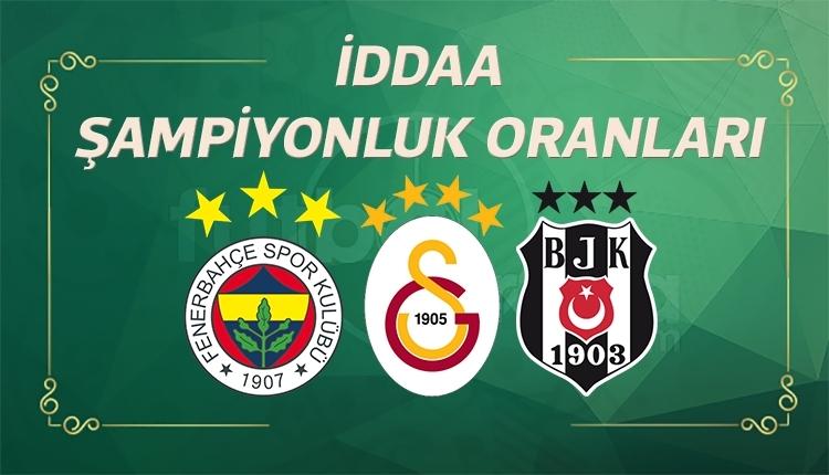 Şampiyonluk oranları değişti, favori Fenerbahçe