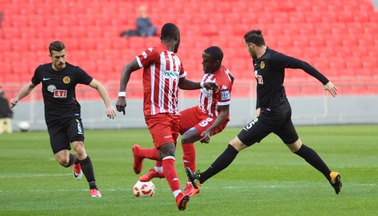 Samsunspor 0-4 Eskişehirspor maç özeti ve golleri