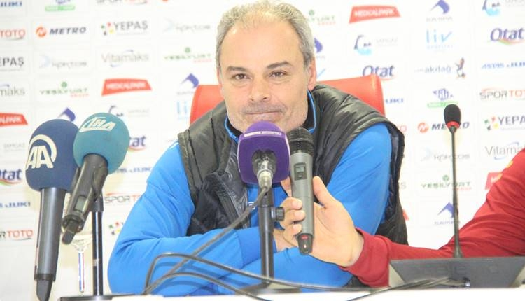 Samsunspor'da Engin İpekoğlu'ndan galibiyet yorumu