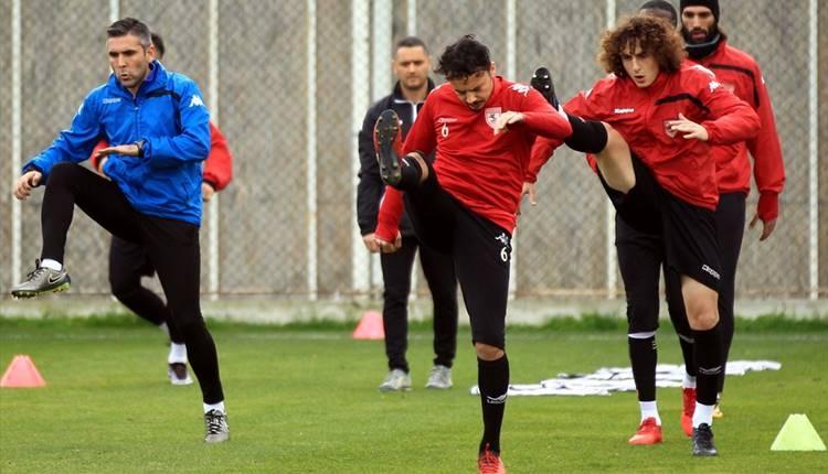 Samsunspor'da futbolculardan Giresunspor'a gözdağı