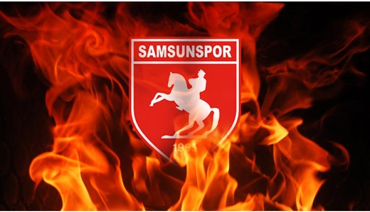 Samsunsporlu futbolculardan protesto!