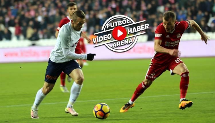 Sivasspor 1-0 Başakşehir maçı özeti ve golü (İZLE)