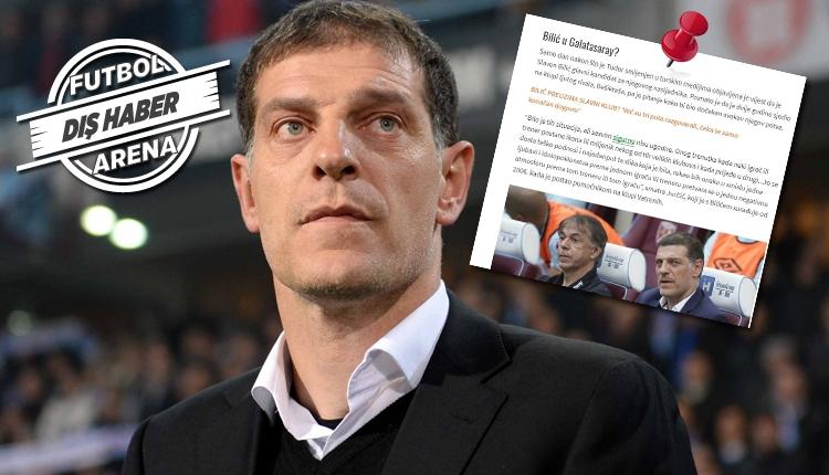 Slaven Bilic'in yardımcısı Jurcevic'ten Galatasaray açıklaması