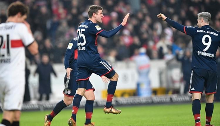 Stuttgart 0-1 Bayern Münih maç özeti ve golleri (İZLE)