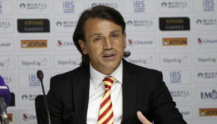 Tamer Tuna'dan oyuncularına Galatasaray uyarısı