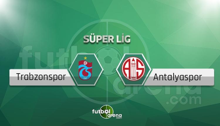 Trabzonspor - Antalyaspor saat kaçta, hangi kanalda? (İddaa canlı skor)