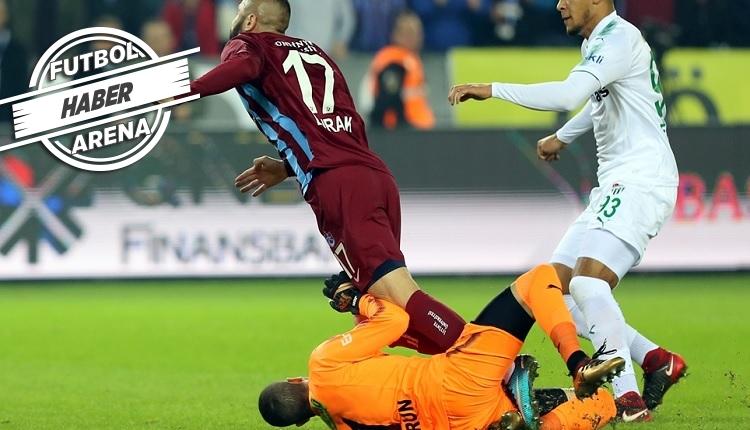 Trabzonspor - Bursaspor maçında 3 penaltı isyanı! Halis Özkahya