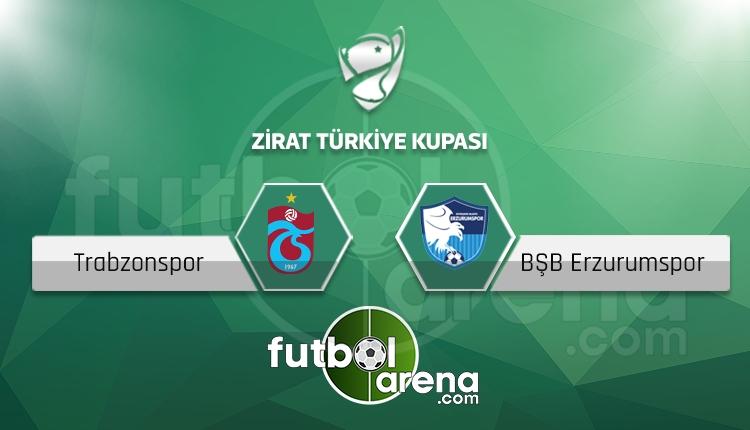 Trabzonspor - Erzurumspor saat kaçta, hangi kanalda? (İddaa Canlı Skor)