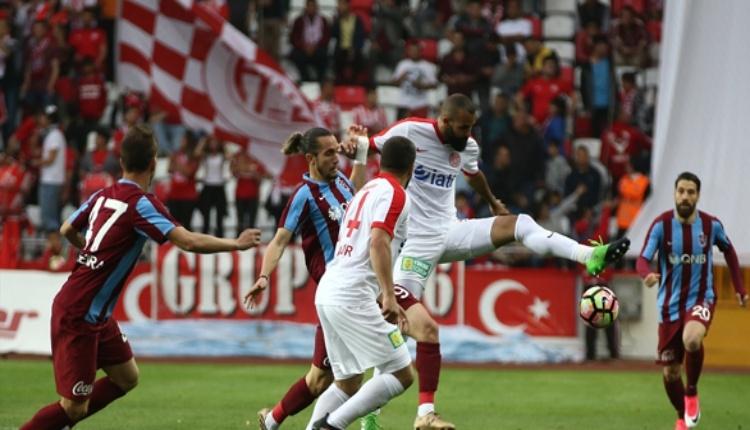 Trabzonspor ile Antalyaspor 43 randevuda