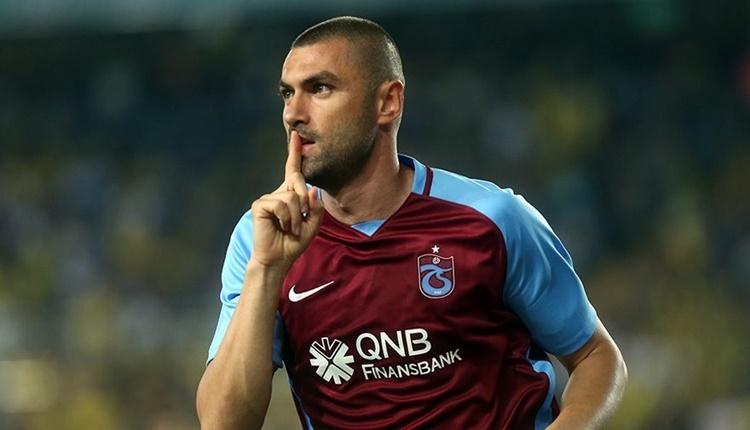 Trabzonspor'da Burak Yılmaz attığı gollerle rekora koşuyor!