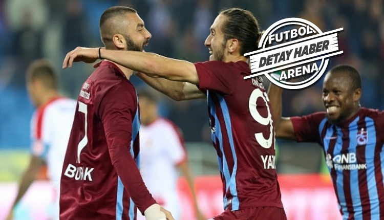 Trabzonspor'da Burak Yılmaz, Avrupa'da ilk 10'da