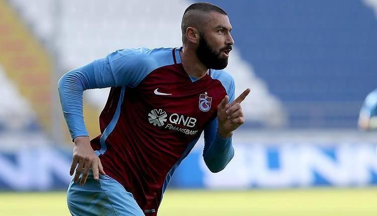 Trabzonspor'da Burak Yılmaz'dan şampiyonluk açıklaması