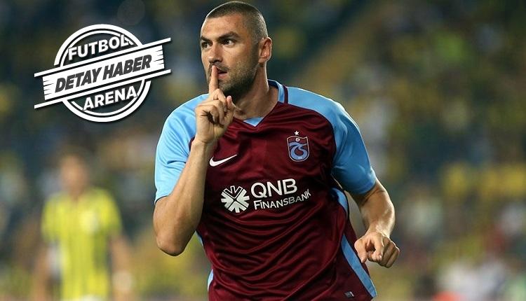 Trabzonspor'da Burak Yılmaz'ın Antalyaspor'a attığı golde ilginç detay