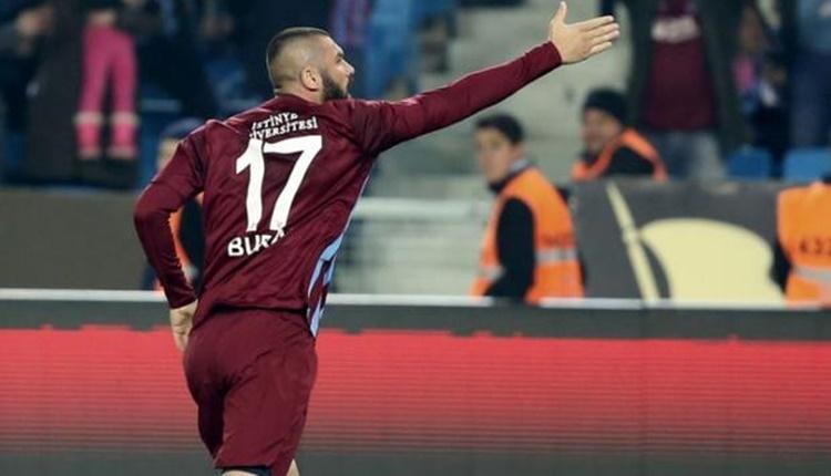 Trabzonspor'da Burak Yılmaz'ın gözü krallıkta!