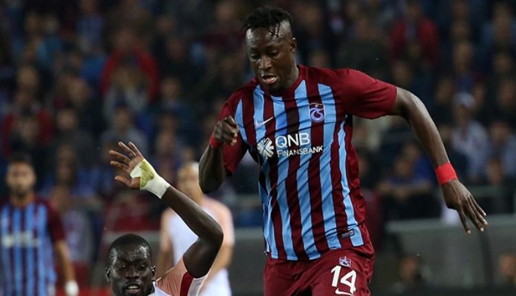 Trabzonspor'da N'Doye kulübe ihtar çekti