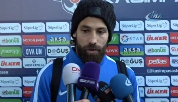 Trabzonspor'da Olcay Şahan'dan maç sonu diriliş açıklaması