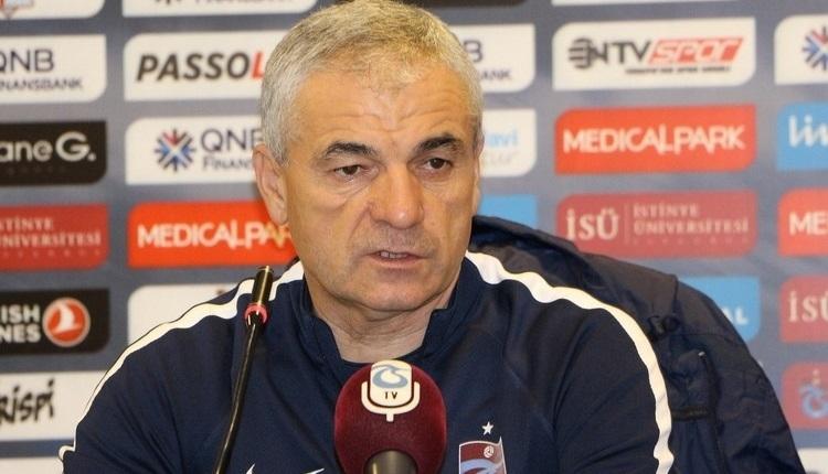 Trabzonspor'da Rıza Çalımbay: ''Bir tane kolay maç kazanamadık''