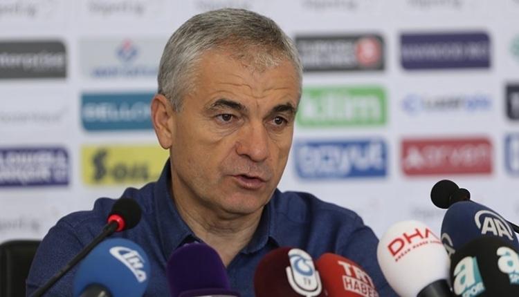 Trabzonspor'da Rıza Çalımbay: 'Mükemmel oynadık'