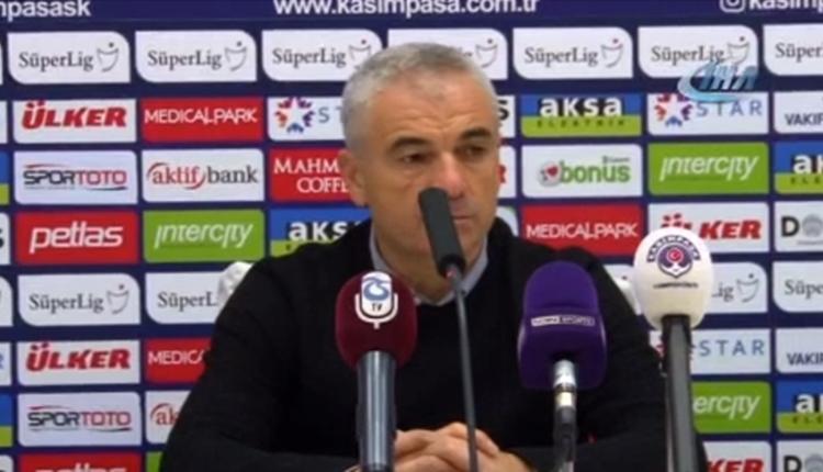 Trabzonspor'da Rıza Çalımbay: 'Rodallega'yı oyuna almazdım'