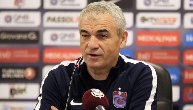 Trabzonspor'da Rıza Çalımbay'dan yedek oyunculara övgü