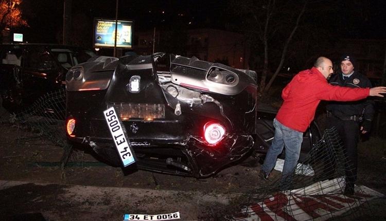Trabzonsporlu Burak Yılmaz'ın kaza sonrası ilk ifadesi! 'Araç aşırı hızlandı'