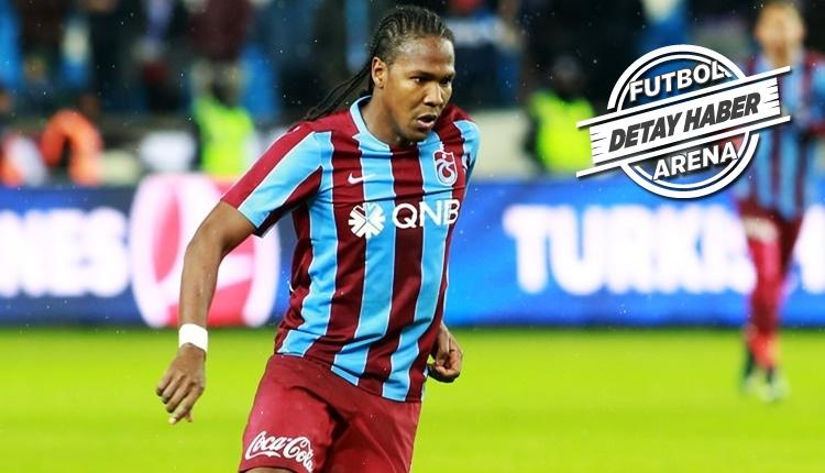 Trabzonspor'un golcüsü Hugo Rodallega, Avrupa'da zirvede