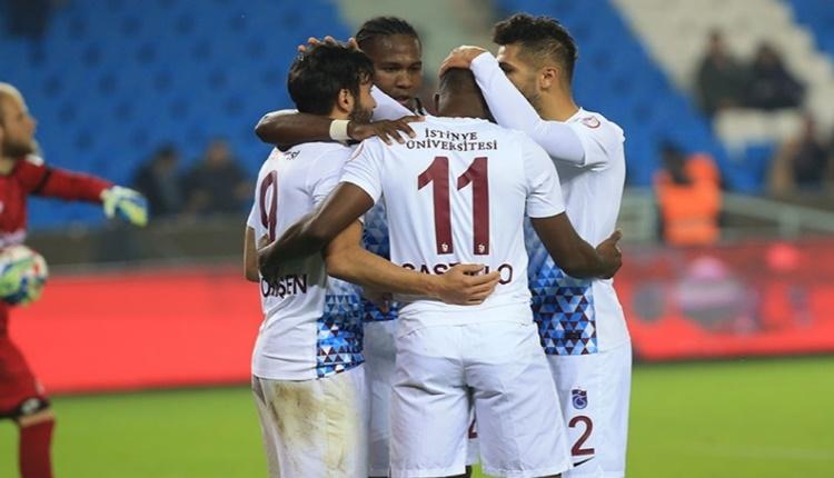 Trabzonspor'un yedekleri göz doldurdu
