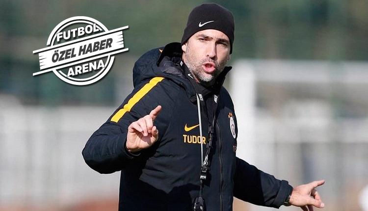 Galatasaray'da Tudor'un Beşiktaş derbisinde oyunculardan tek isteği