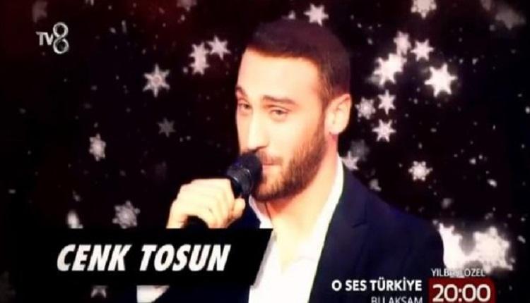 TV8 O Ses Türkiye Yılbaşı Özel'de Cenk Tosun sahnede!
