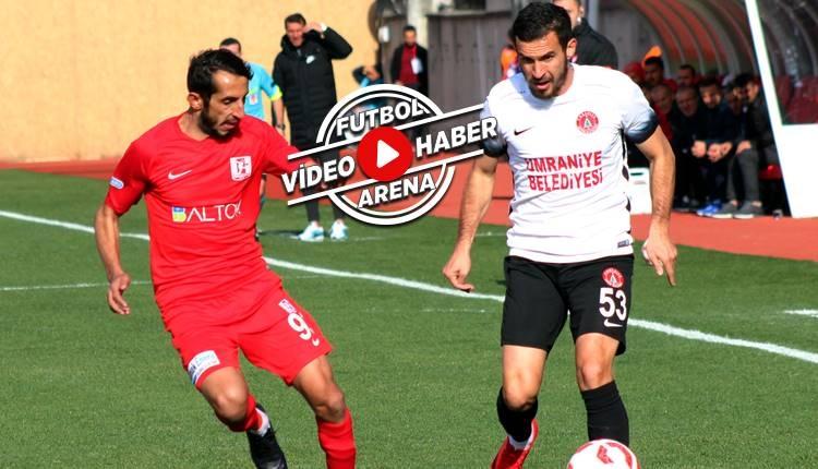 Ümraniyespor 2-2 Balıkesirspor maçı özeti ve golleri (İZLE)